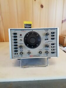 Kh Krohn Hite Model 2000 Frequency Signal Generator Used Untested