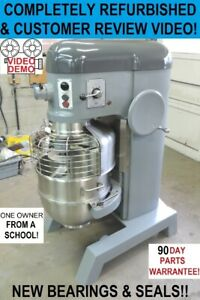 Hobart H600t 60 Qt Quart Bakery Pizza Dough Mixer From A School Refurbished