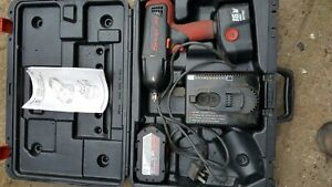Snap On 1 2 Cordless 18v Impact Wrench Gun Charger Batteries