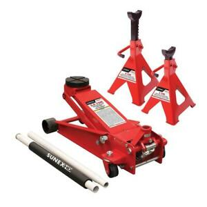 3 5 Ton Service Jack Stand Quick Lifting System Floor Shop Automotive Equipment
