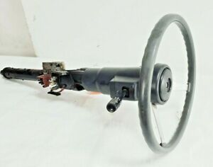 87 95 Jeep Wrangler Yj Manual Steering Column With Key Non Tilt