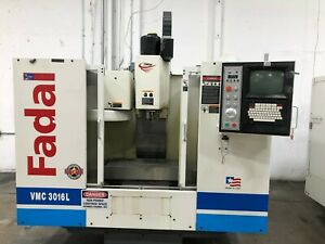 Fadal Vmc 3016l Cnc Vertical Machining Center Mill Model 914 2002