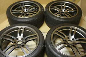 20 Jdm Rays R57gt Forged Wheel Tags Vr g12 Volks Gt r 350z Concave R35 370z