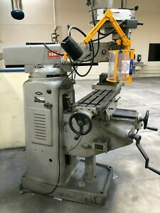 Kent Ktm 380 Vertical Milling Machine 1980 With Anilam Micro Wizard
