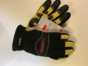 Refrigiwear Warm Tricot Lined Fiberfill Insulated High Dexterity Work Gloves Med