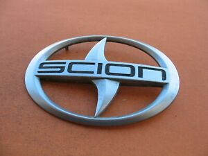 05 06 07 08 09 10 Scion Tc Front Grille Emblem Logo Badge Sign Symbol Oem 3