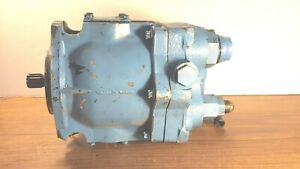 Gently Used Eaton 422290 Hydraulic Piston Pump 7 8 12 Spline Shaft Pve Series