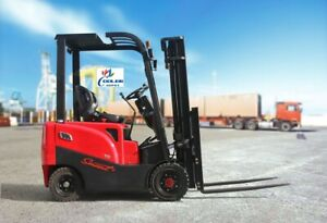 New Electric Forklift 4 Wheel 3500 Lbs Capacity