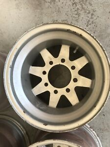 Rare Jackman Wagon Wheel 8 Lug 15 X 10 American Made