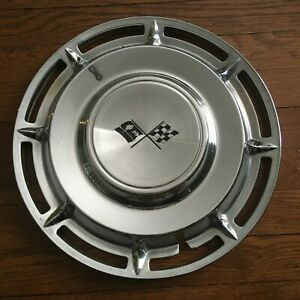 1960 Chevy Impala Nomad Bel Air Biscayne 14 Hubcap Wheel Cover Single