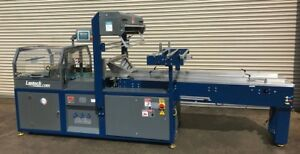 Lantech Sw 5000 Continuous Motion Bottom Lap Seal Shrink Wrapper