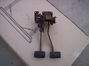 Mopar B Body 4 Speed Clutch Brake Pedals Charger Roadrunner Gtx 1967 69