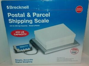 Brecknell Lps 400 Portable Digital Shipping Scale 400 Lb Capacity Bench Scale