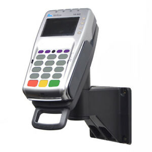 Credit Card Machine Stand For Verifone Vx805 820 Wall mount Latch