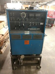 Miller Syncrowave 300 Ac dc Tungsten arc Welding Power Source 230 460v 1ph