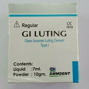 Permanent Dental Glass Ionomer Luting And Crown Bridge Veneer Fixing Cement