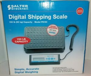 New Salter brecknell Ps150 Digital Shipping Scale 150lb 60kg