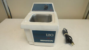 Branson 1210 R mt Ultrasonic Cleaner No Lid Cover