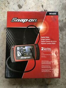 Snap On Bk5600 Digital Video Scope Camera Touch Screen Display