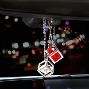 2018 Magic Cube Car Rearview Mirror Pendant Hanging Charm Auto Ornament Decor