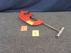 Ridgid 44 s Pipe Cutter Plumbing Heavy Duty Metal Cutting Wheels 2 1 2 To 4