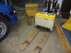 Yale Electric Pallet Jack Prime Mover Electric Pallet Jack With Chargers