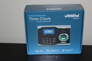 New In Open Box Uattend Bn6000 Biometric Fingerprint Cloud Connected Time Clock