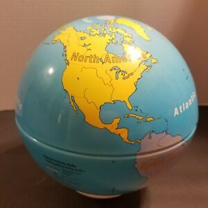 Nystrom Activity Globe 9 Inch Excellent Condition