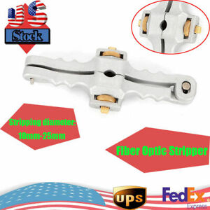 New Adjustable 10 25mm Fiber Stripping Opener Cable Jacket Cutter Opener Tool Us