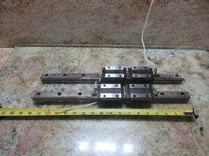 Thk Linear Scale Rail Guide Hsr25cr Weeke Bp12 Wood Cutting Lot Of 2