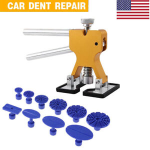Auto Paintless Dent Repair Puller Body Tool Glue Tabs Removal Hail Lifter Kit