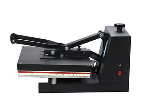 Us 15 x15 5in1 Combo T shirt Heat Press Transfer Machine Sublimation Swing Away