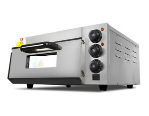 Commercial Electric Pizza Oven Cake Roasted Cooker Kitchen Baking Machine 220v
