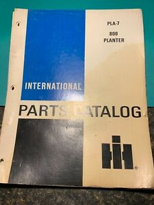 International Pla 7 800 Planter Parts Catalog