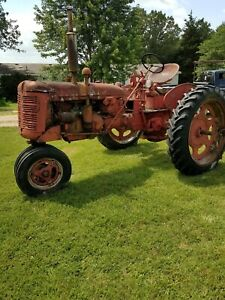 International Harvester C Tractor for Parts Are Repair As Is