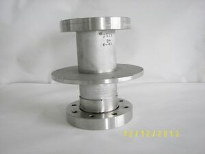 Varian High Vacuum Research Chamber 4 1 2 Flange Reducer