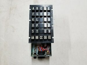 National Vendors 140 Button Panel Selector Product 24 26 30 23 26 29