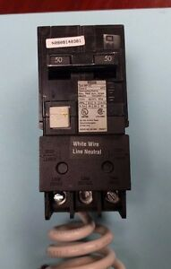 Murray Mp250gf Circuit Breaker 50 Amp 2 Pole 120 240vac Gfci new In Box