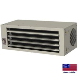 Unit Heater Hydronic Hot Water Fan Forced Low Profile 30 000 Btu