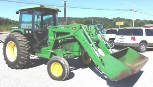 John Deere 2750 Tractor 3036 Hrs With Loader Ships 1 85 Per Loaded Mile