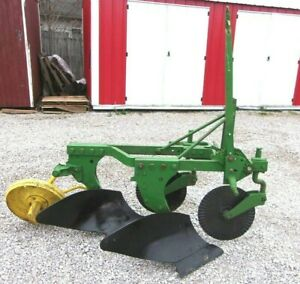 Used John Deere 2 14 Inch Turning Plow 3 Pt Hitch We Ship Cheap And Fast