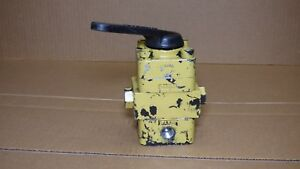 Enerpac Vc 4l Hydraulic Manual Directional Control Valve