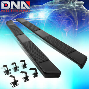 For 2019 Ram 1500 Pickup Truck Quad Cab Pair Steinless Step Bar Running Boards