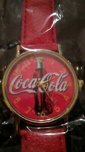 Coca-cola Watch Brand new  still in the plastic. Great for collecters  works.