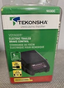 Tekonsha Voyager Electric Trailer Brake Control Pre Wired 9030c Vehicle End New