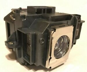 Original Equivalent Bulb In Cage Fits Epson Elplp54 Projector