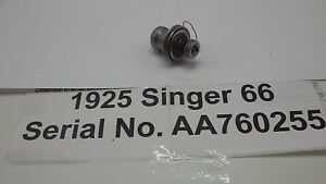 Vintage Original 1925 Singer 66 Sewing Machine Thread Tension