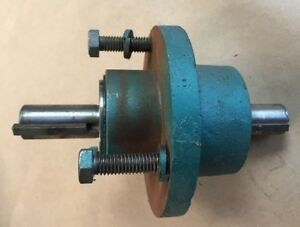 Powermatic 141 14 Bandsaw Lower Wheel And Pulley Shaft Assembly Band Saw Parts
