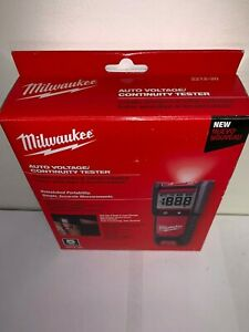 Milwaukee 2212 20 Auto Voltage continuity Tester In Stock