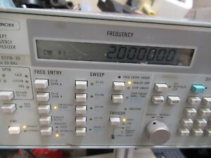 Wiltron Swept Frequency Synthesizer 2 20 Ghz Model 6737b 20 As Pictured gar